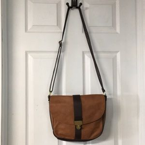 Everyday Leather Crossbody Tote Bag